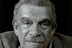 Derek Walcott at AWP, Boston