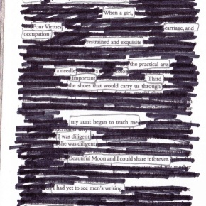 Eface, Explore, Expand: Erasure Poetry
