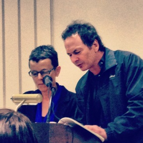 From the Spring 2013 Living Writers Series: Collaborative Reading of Forrest Gander and Pura López-Colomé